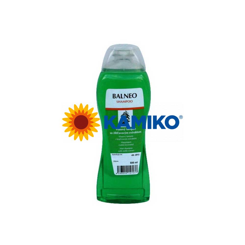 Šampón na vlasy BALNEO žihľavový 500 ml, s dávkovačom
