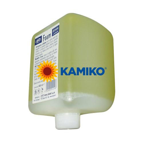 Mydlová pena MAR PLAST 500 ml, patróna žltá