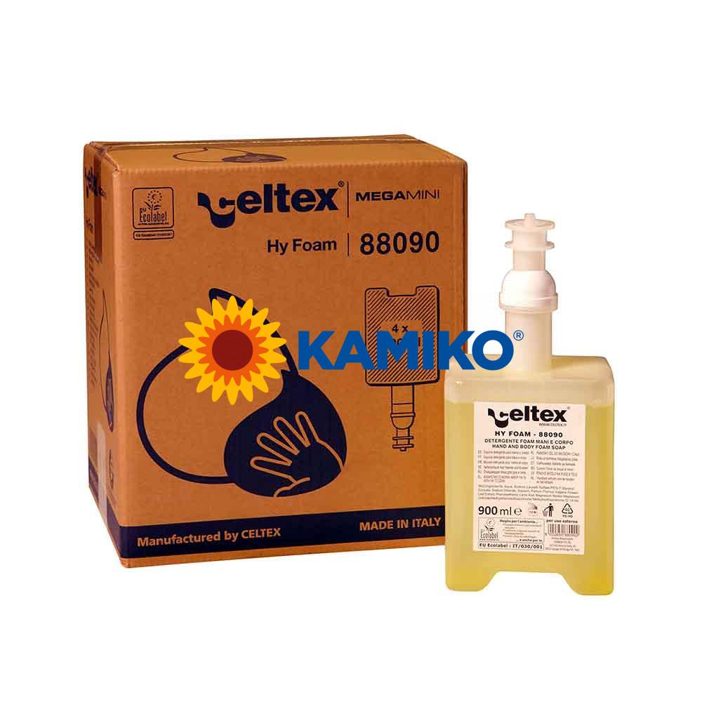 Mydlová pena CELTEX 900 ml, patróna žltá