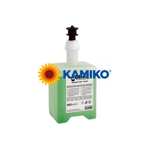 Mydlová pena CELTEX 900 ml, antibakteriálna, patróna zelená