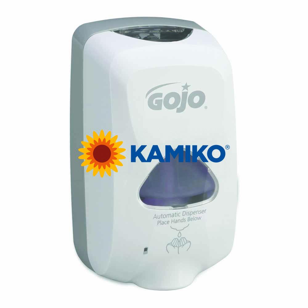 Bezdotykový dávkovač mydlovej peny GOJO TFX 1 200 ml, biela/sivá