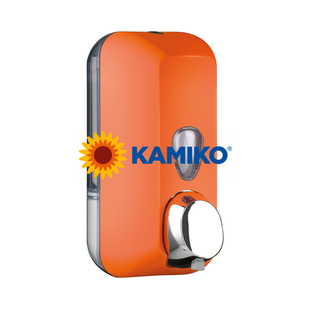 Dávkovač mydlovej peny COLORED 550 ml, oranžový