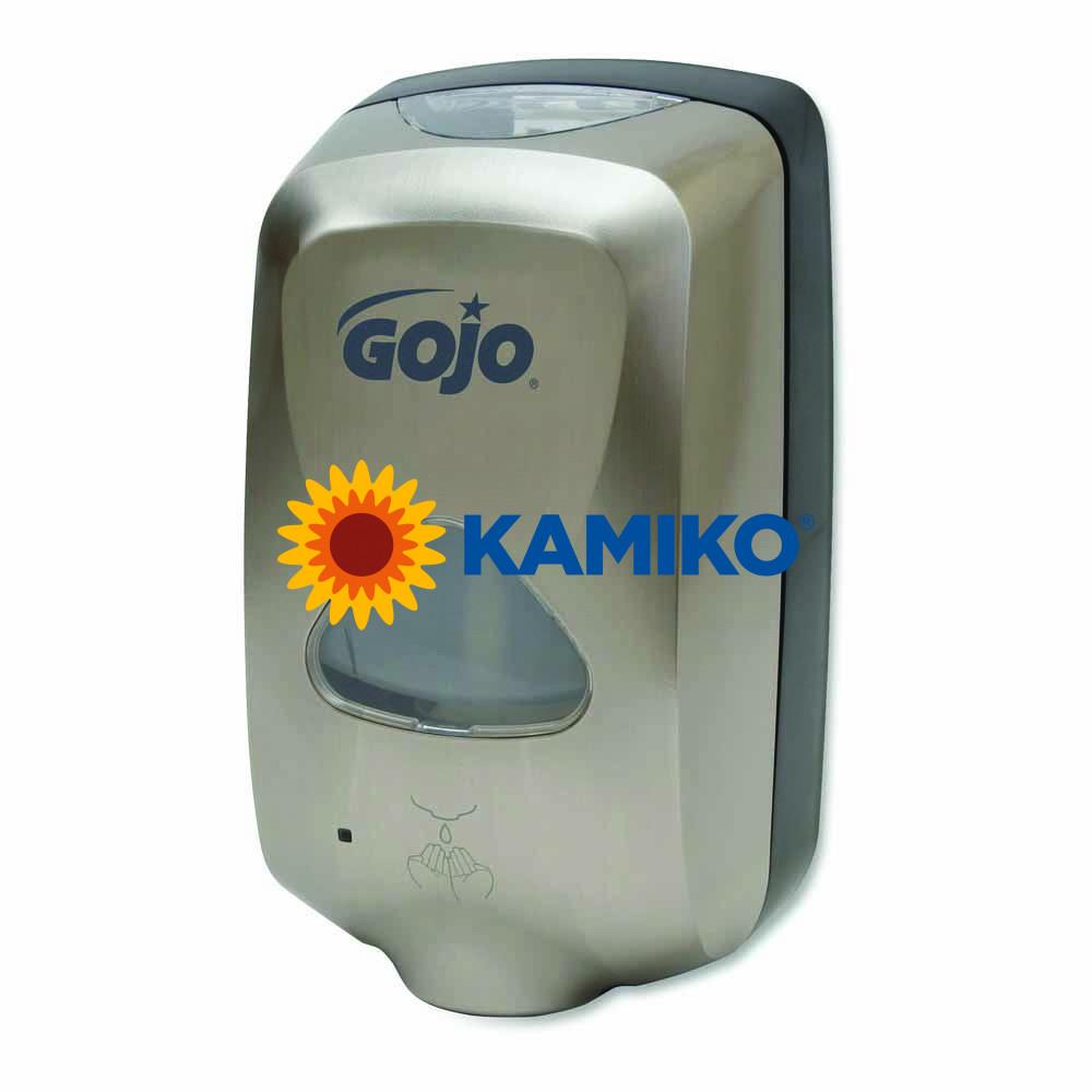 Bezdotykový dávkovač mydlovej peny GOJO TFX 1 200 ml, metalický/čierny