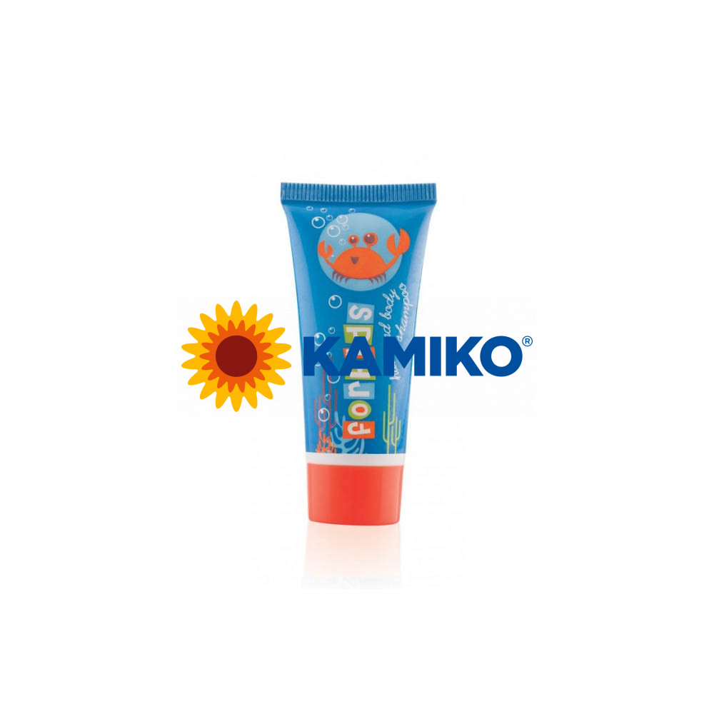 For Kids vlasový a telový šampón v tube 20 ml, 50 ks