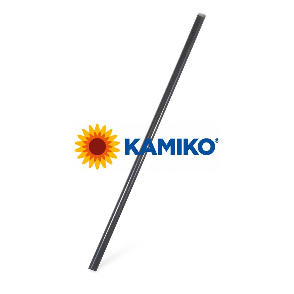 Slamky JUMBO čierne BIO Ø 8 mm x 25 cm, 150 ks