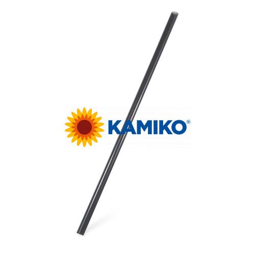 Slamky JUMBO 25 cm, pr. 8 mm, čierne, BIO plast