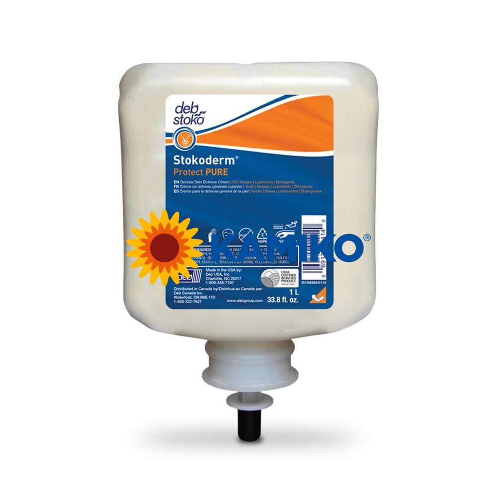 Krém DEB Stokoderm Protect PURE 1000 ml, patróna