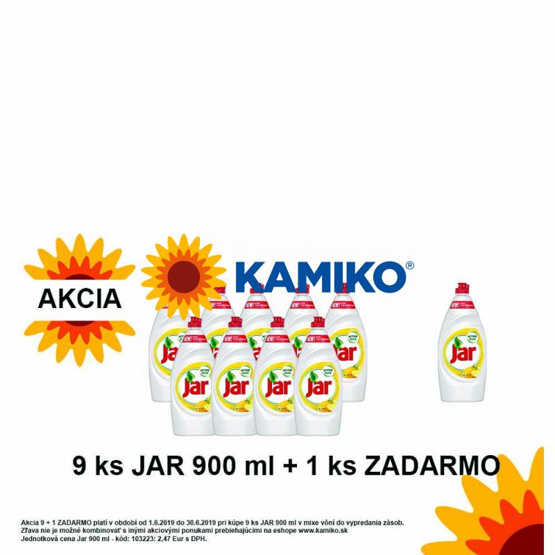 Jar 900 ml rôzne vône 9 ks + 1 ks zadarmo