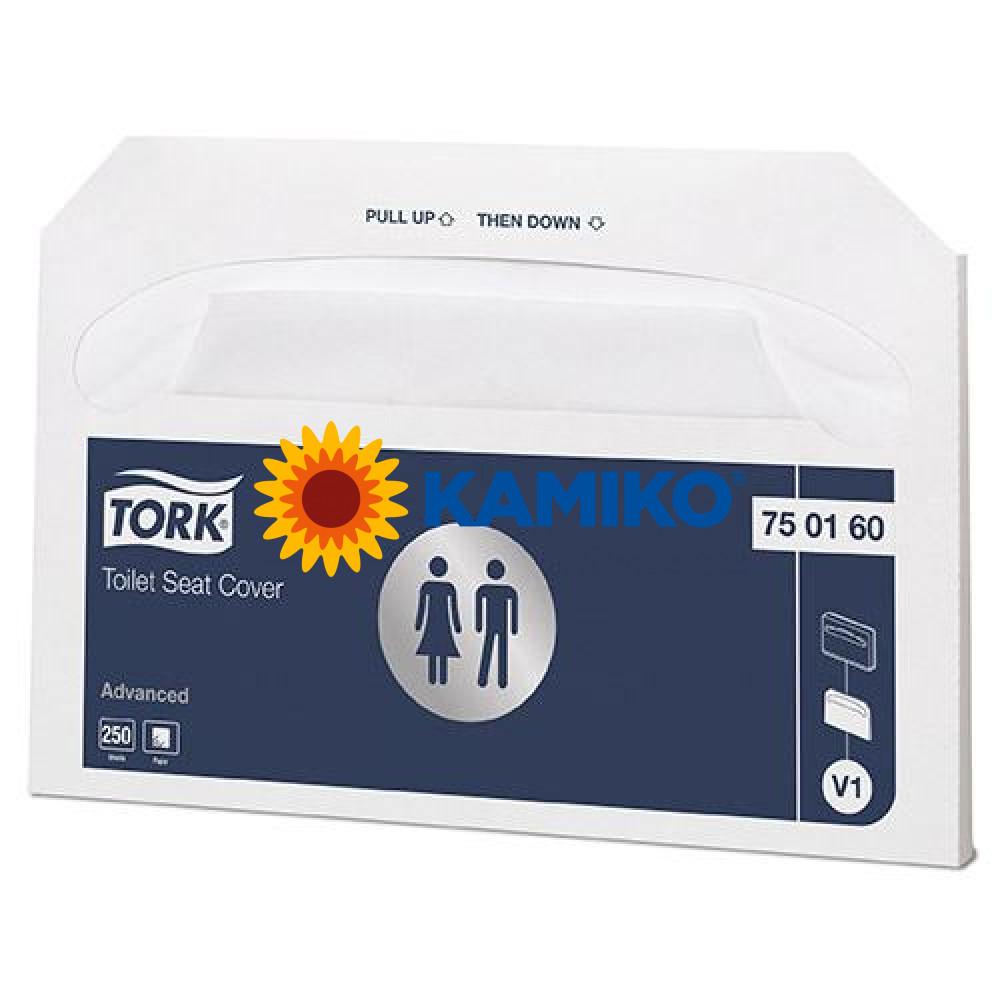 Podložky na wc dosku TORK splachovateľné