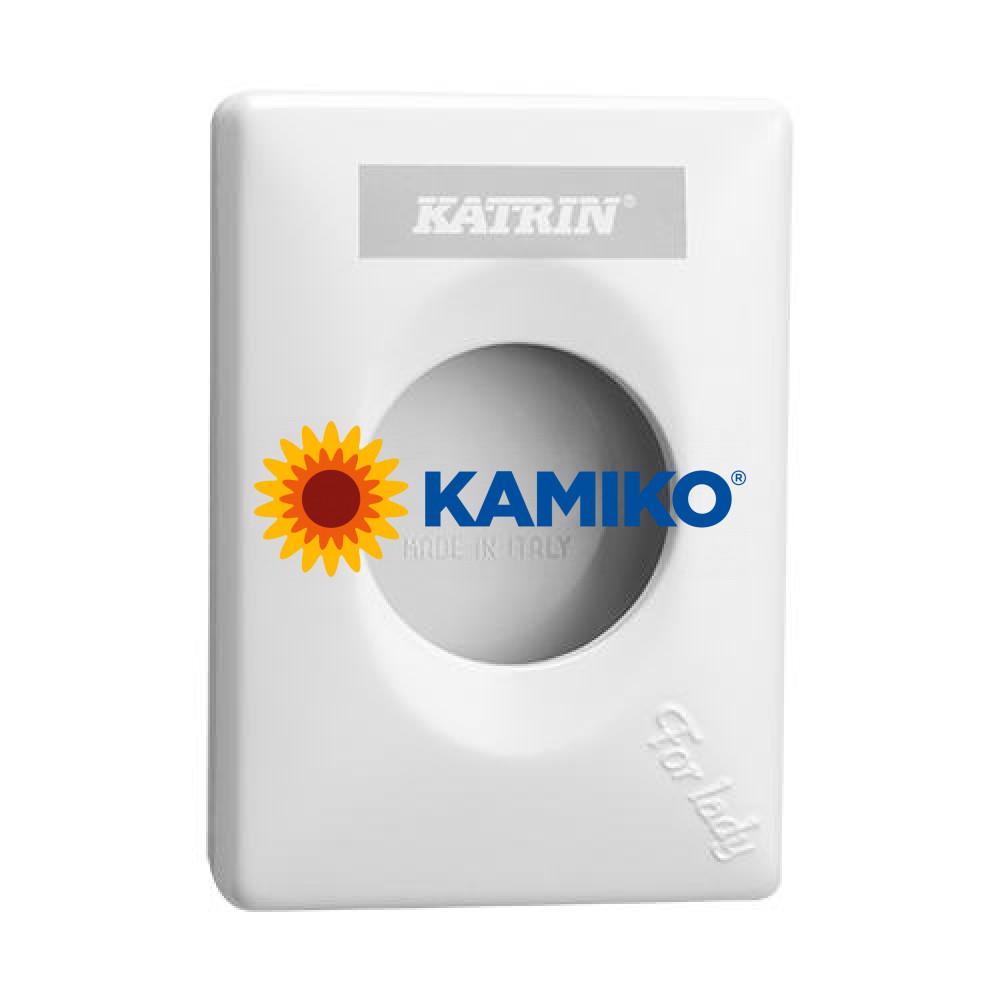 Zásobník na hygienické vrecká KATRIN, biely