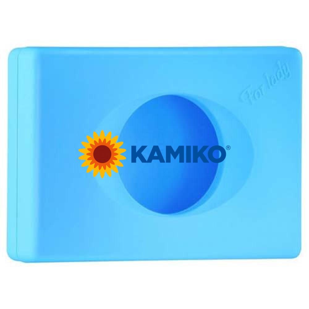 Zásobník na hygienické vrecká COLORED EDITION, modrý