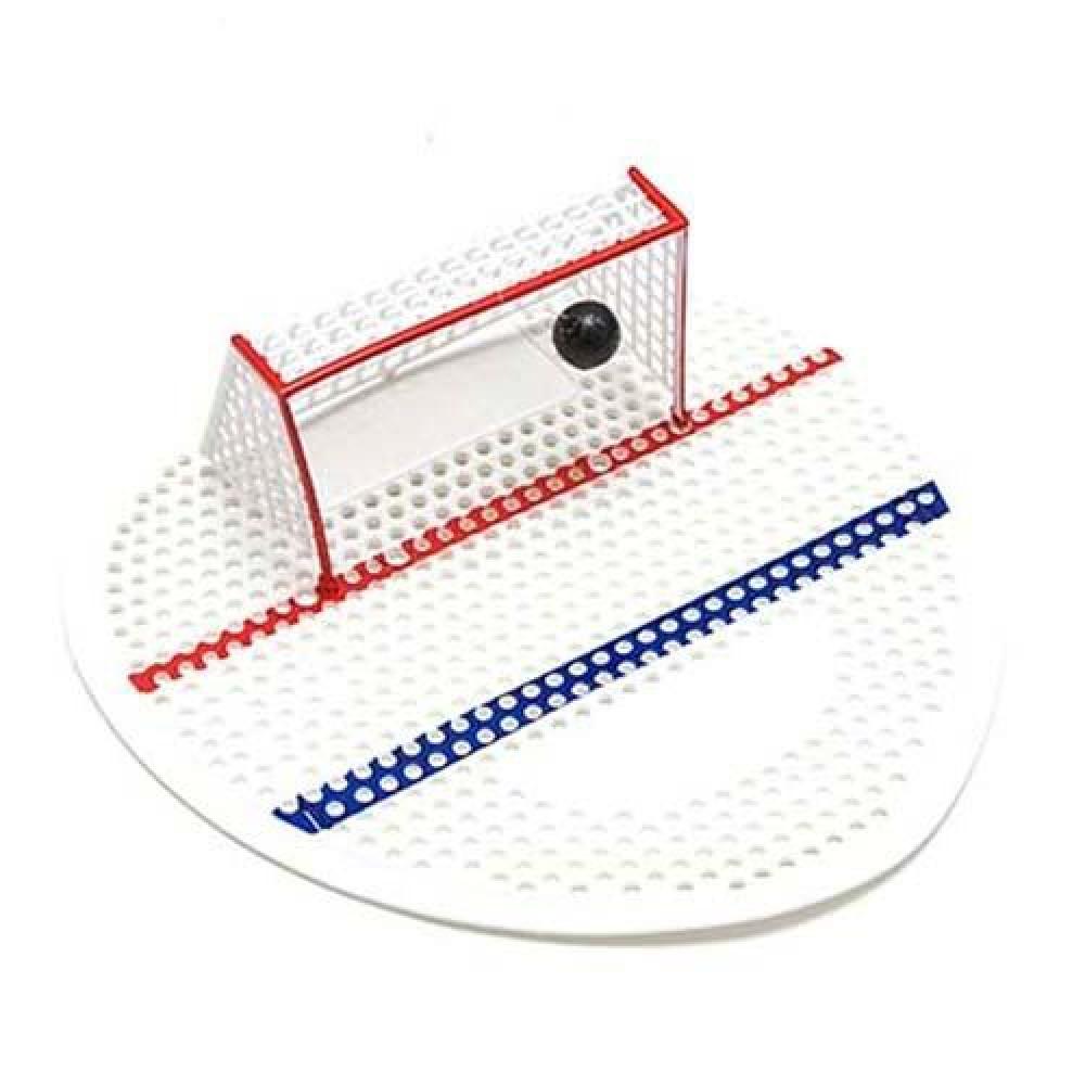 Voňavá gumená vložka do pisoárov s hokejovou bránkou