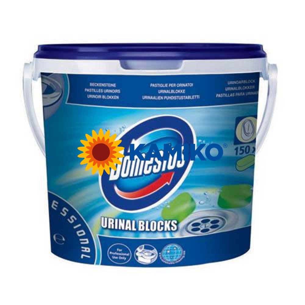 Tablety do pisoárov DOMESTOS 3kg, 150ks