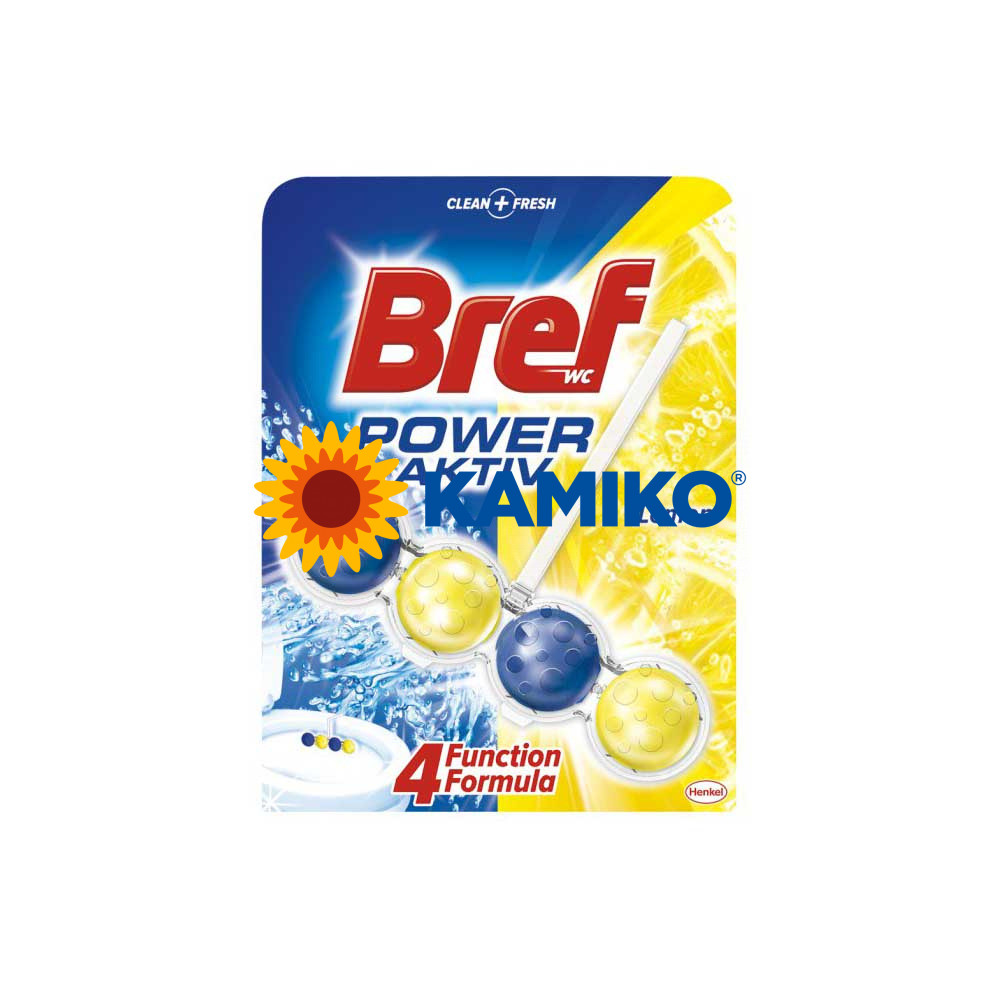Bref Power Aktiv 4 Formula Juicy Lemon WC blok 50 g