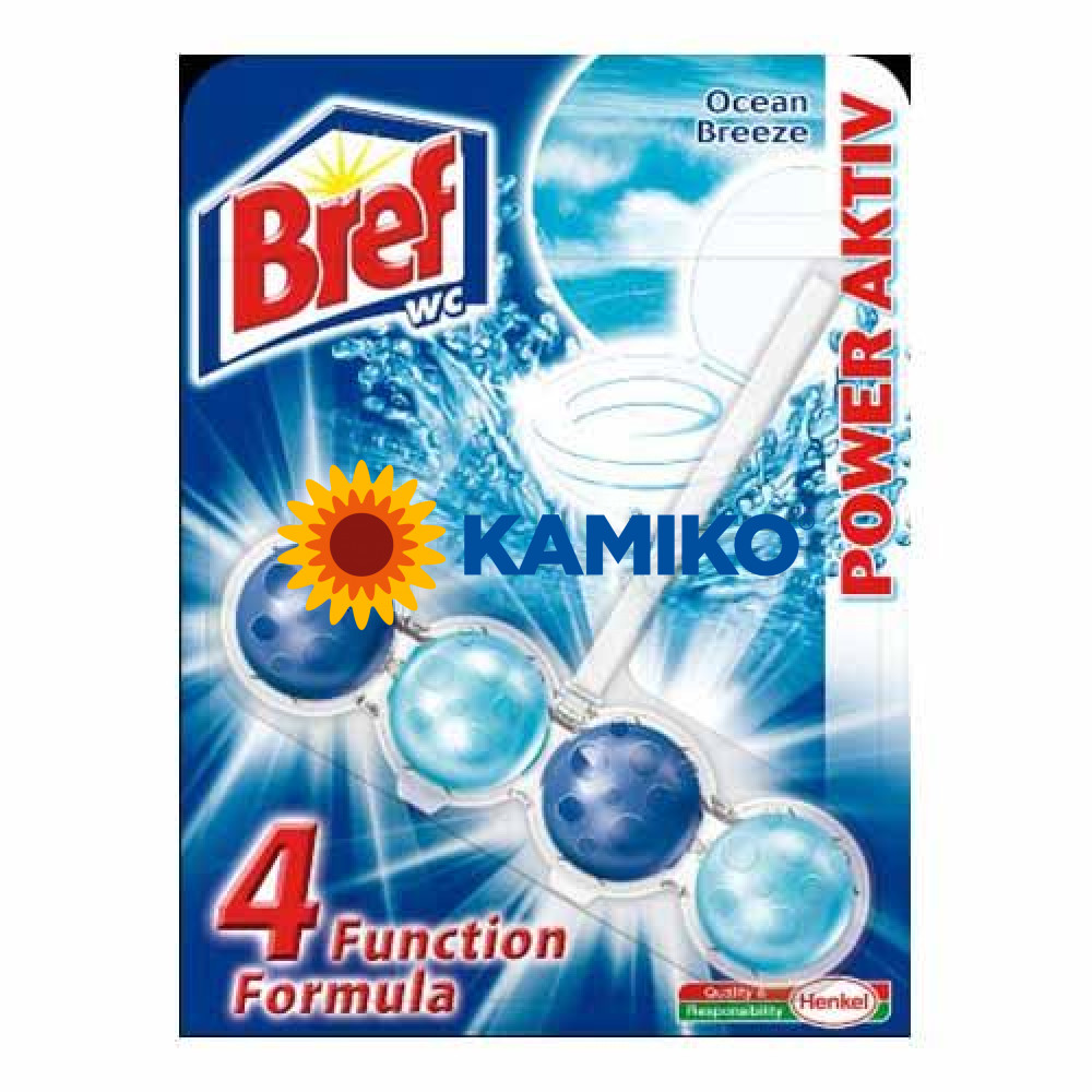 Záves WC Bref Power Aktiv OCEAN, 50g