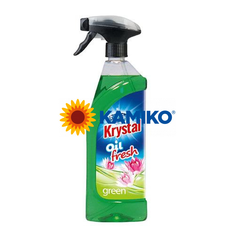 KRYSTAL olejový osviežovač 750 ml, zelený