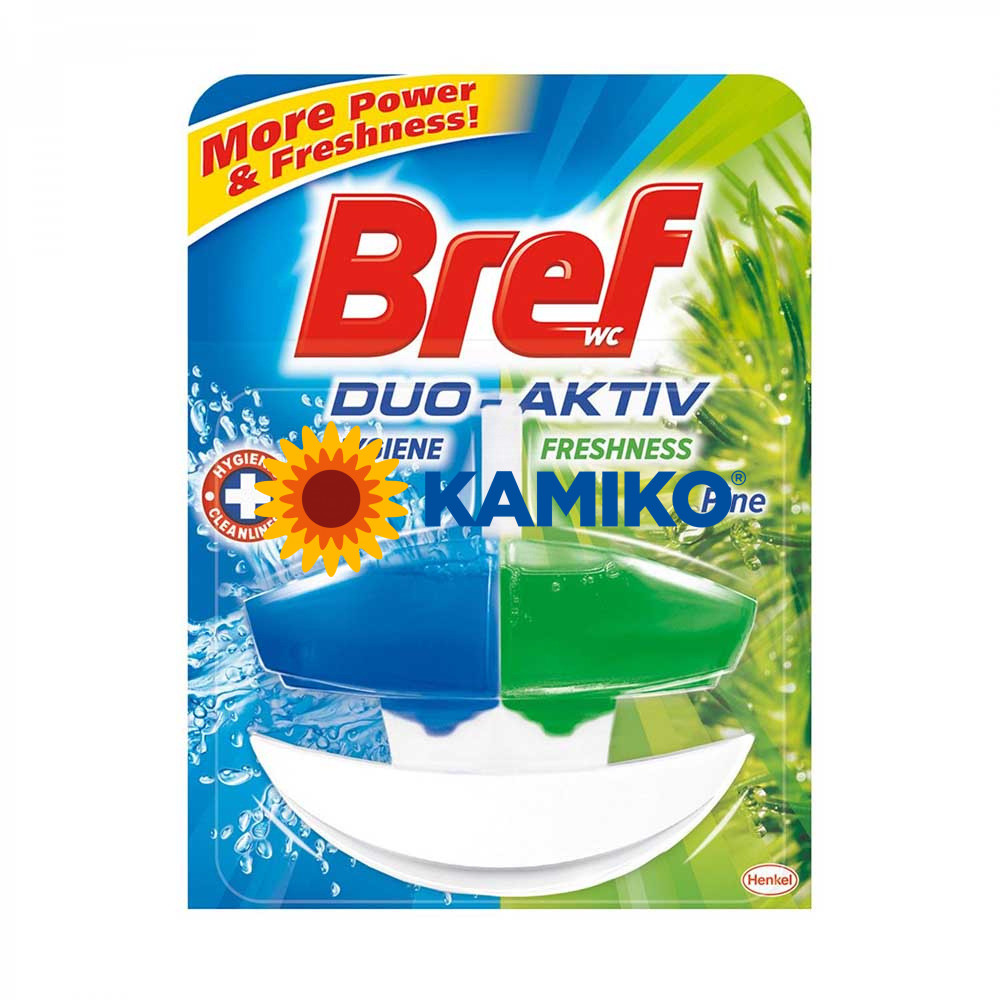 Bref Duo-Aktiv Northern Pine tekutý WC blok 50 ml