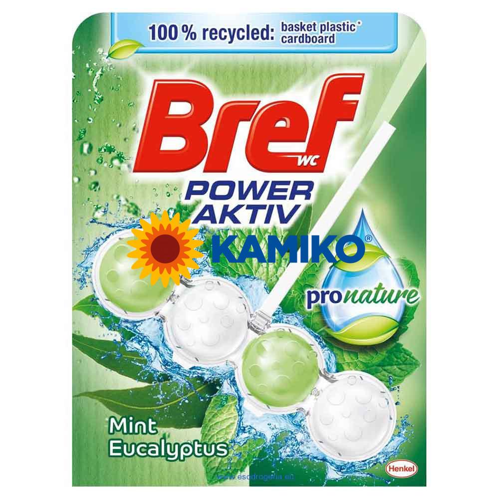 Bref Power Aktiv 4 Formula Mint Eucalyptus WC blok 50 g
