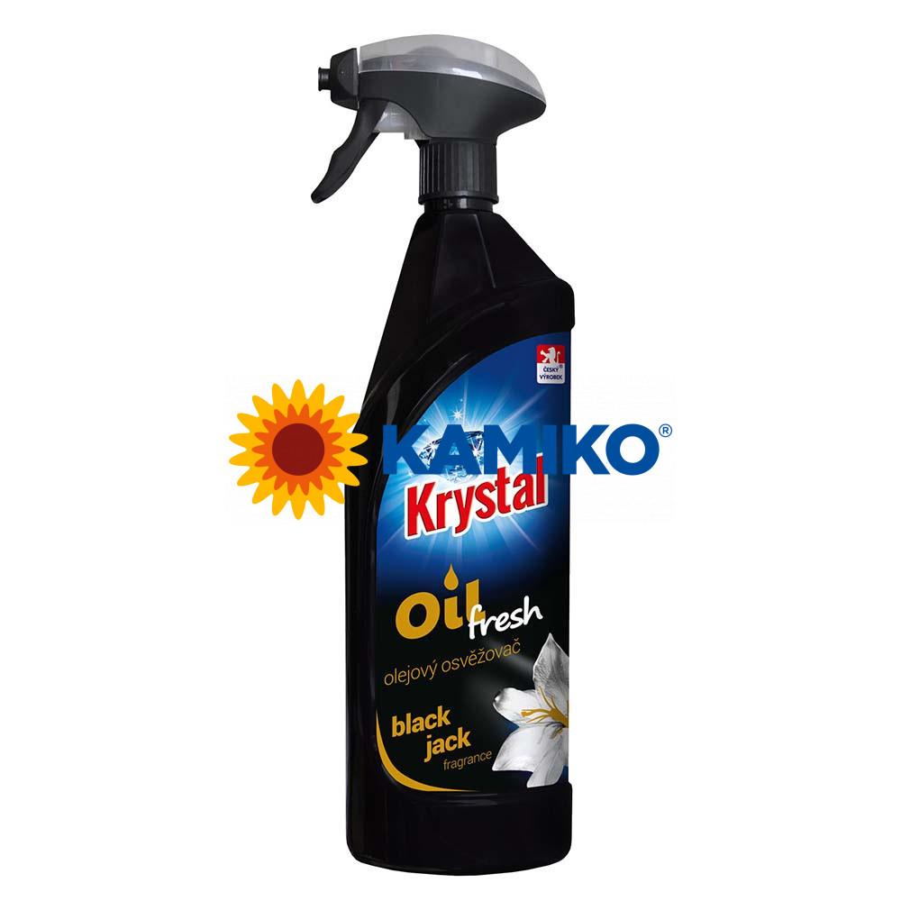 KRYSTAL olejový osviežovač 750 ml, čierny
