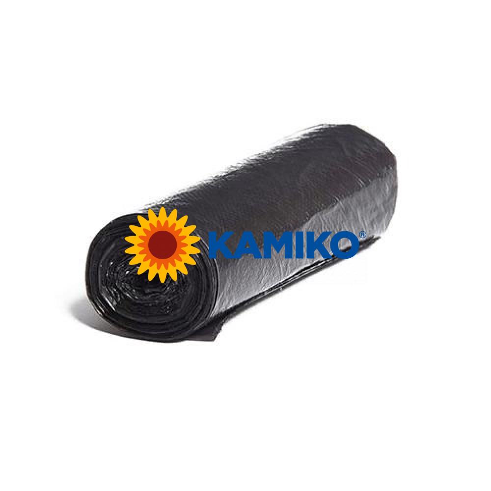 Mikroténové vrecká 50 x 60 cm, 35 l, čierne