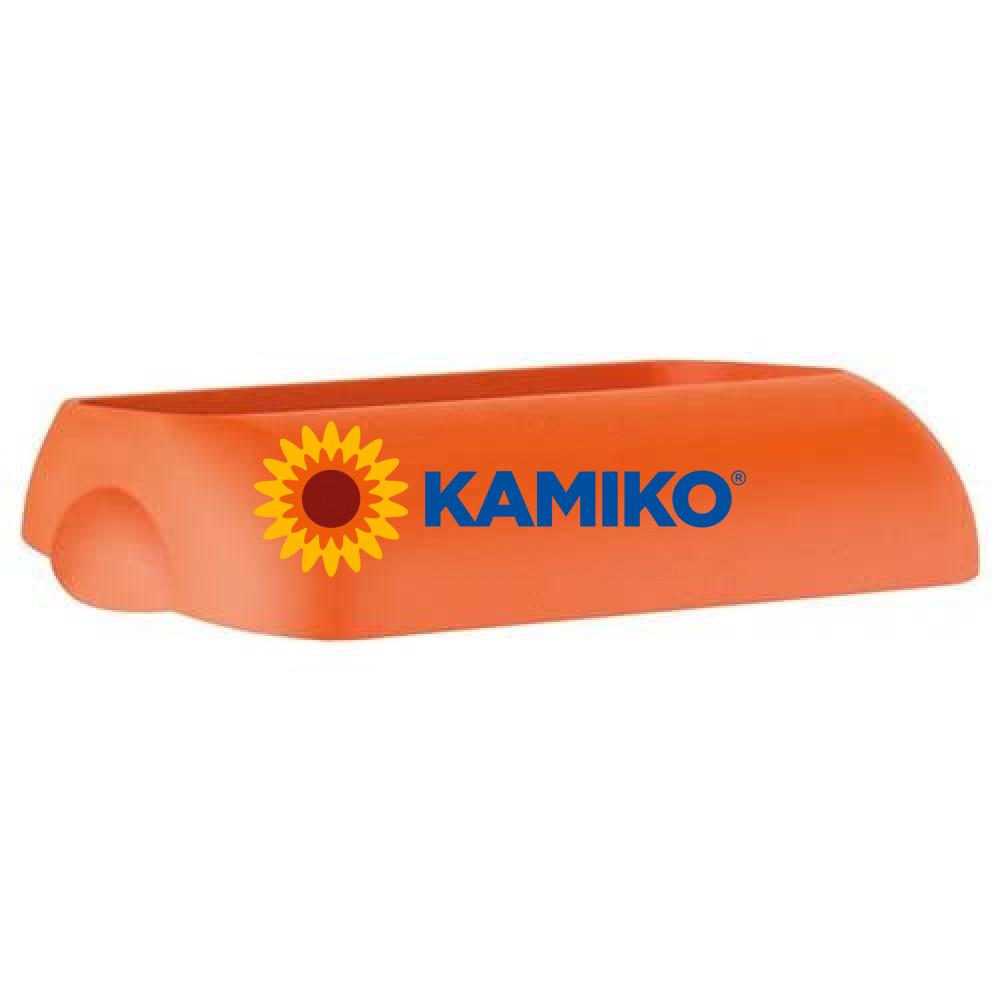Veko na plastový kôš COLORED, oranžové