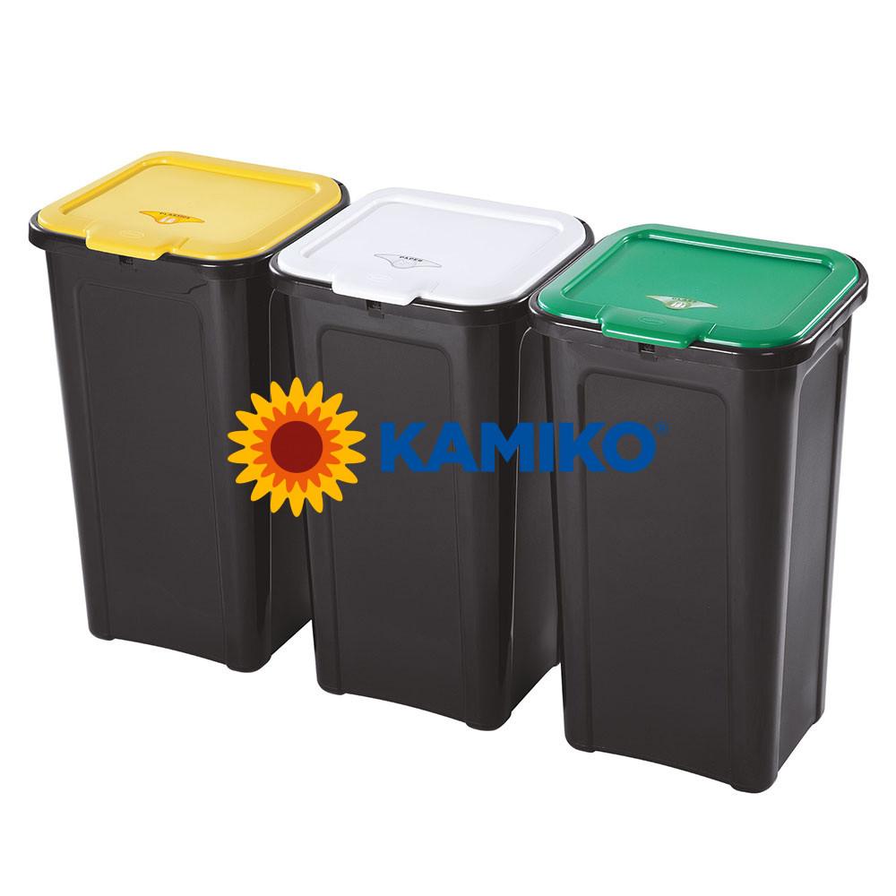 Kôš na triedený odpad Tontarelli 3 x 44 l