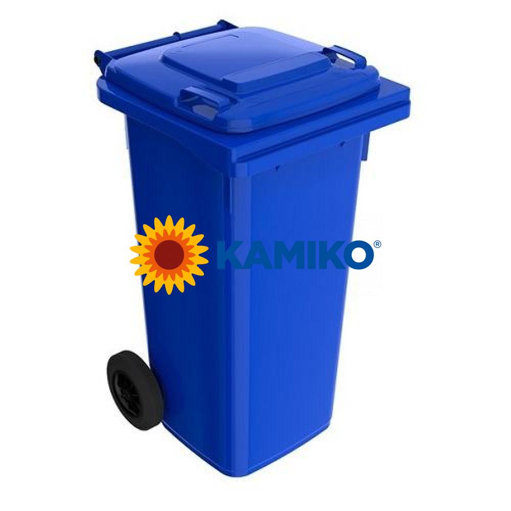 Plastová nádoba na odpad 120 l, modrá