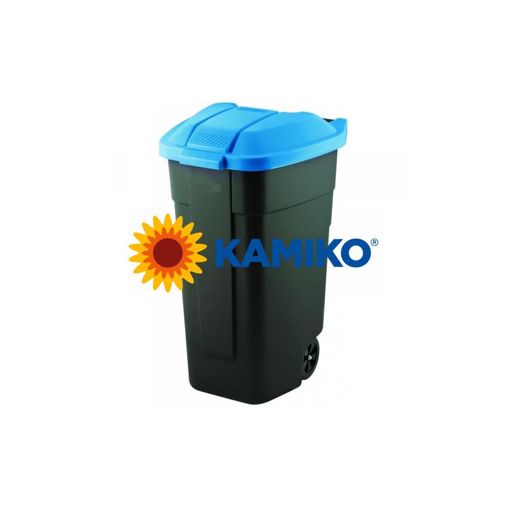 Curver nádoba na odpad nášľapná 110 l, modrá