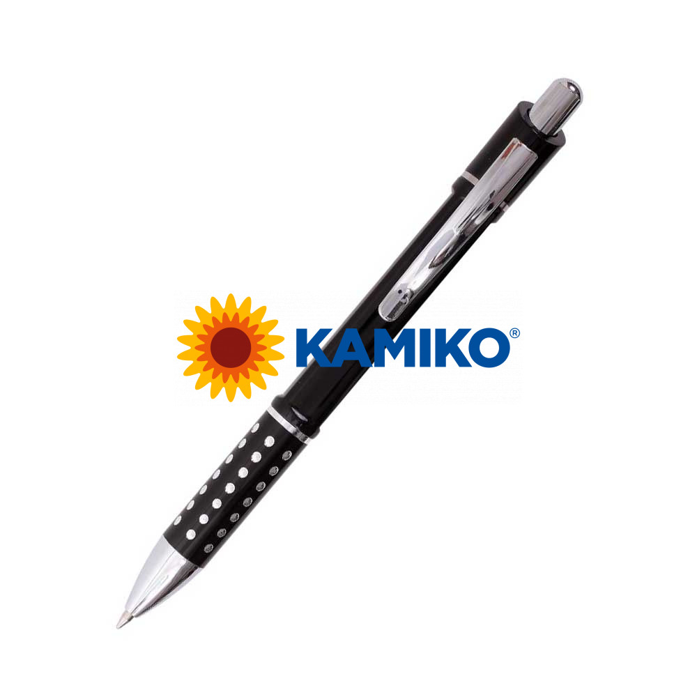 Guľôčkové pero HZ8849 A čierne