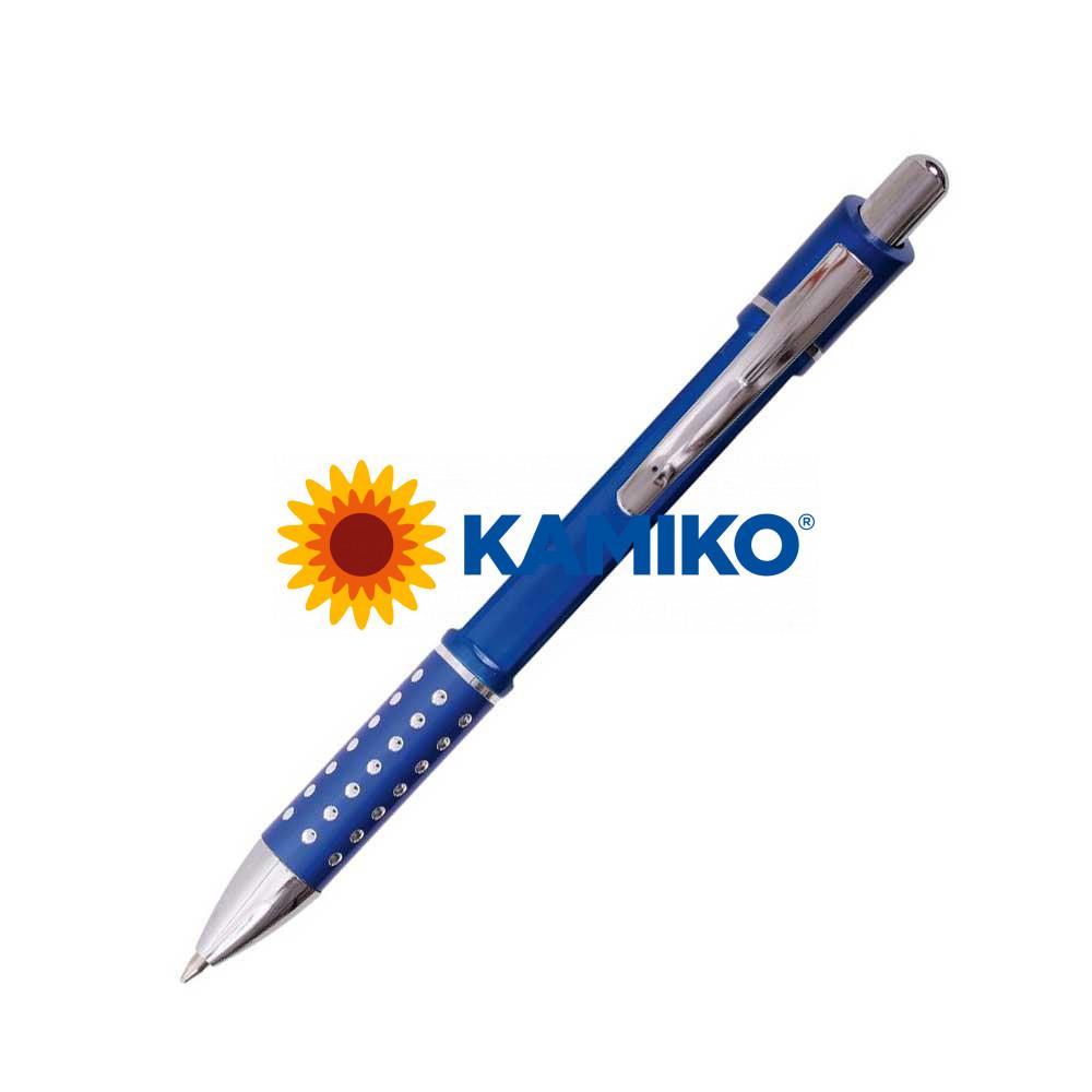 Guľôčkové pero HZ8849 A modré