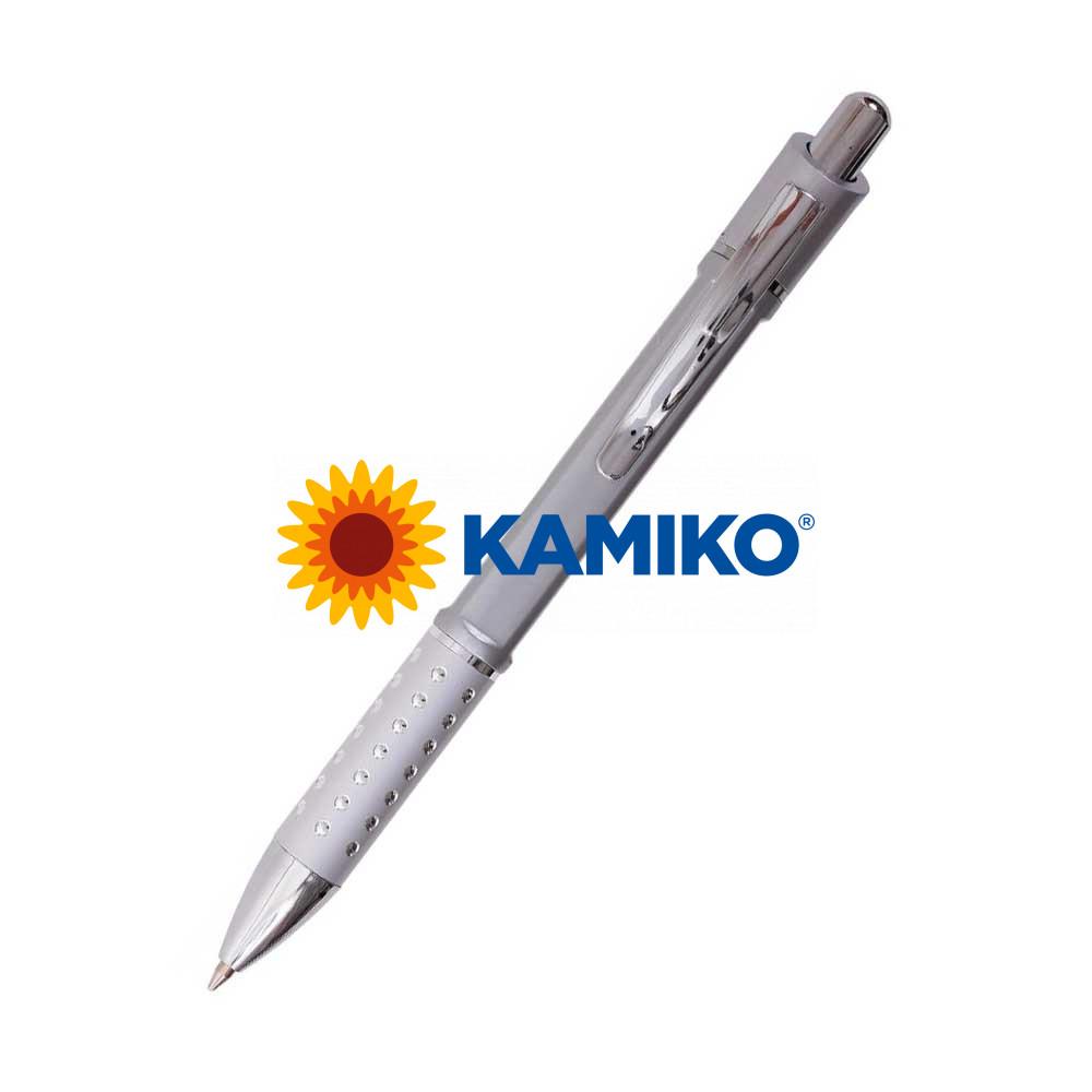 Guľôčkové pero HZ8849 A strieborné
