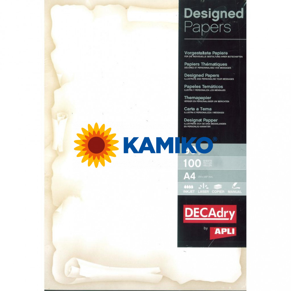 Ilustračný papier Ambassador hnedá 90 g, 100 hárkov