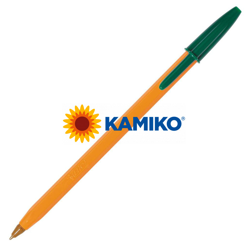 Guľôčkové pero BIC Orange Fine zelené