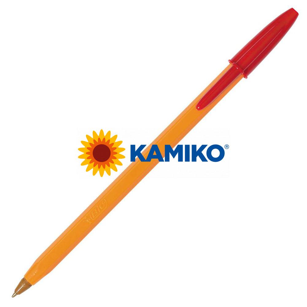 Guľôčkové pero BIC Orange Fine červené