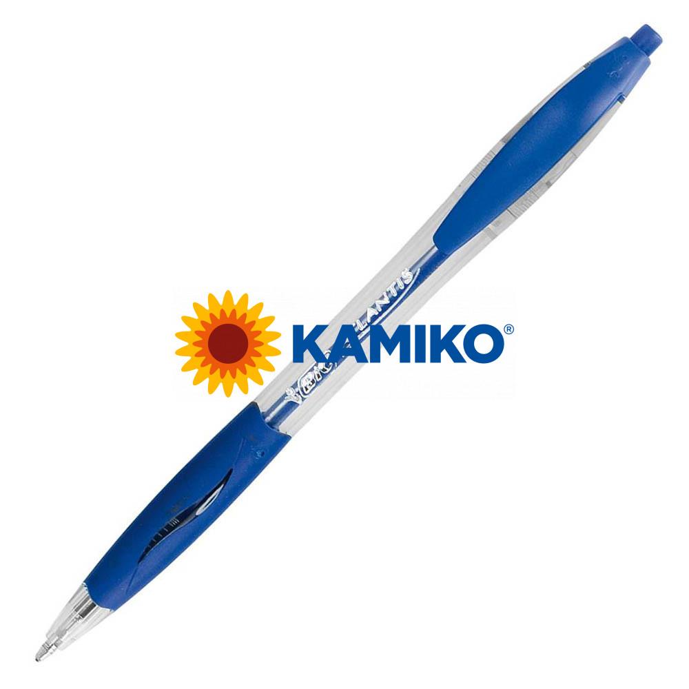 Guľôčkové pero BIC Atlantis refresh modré