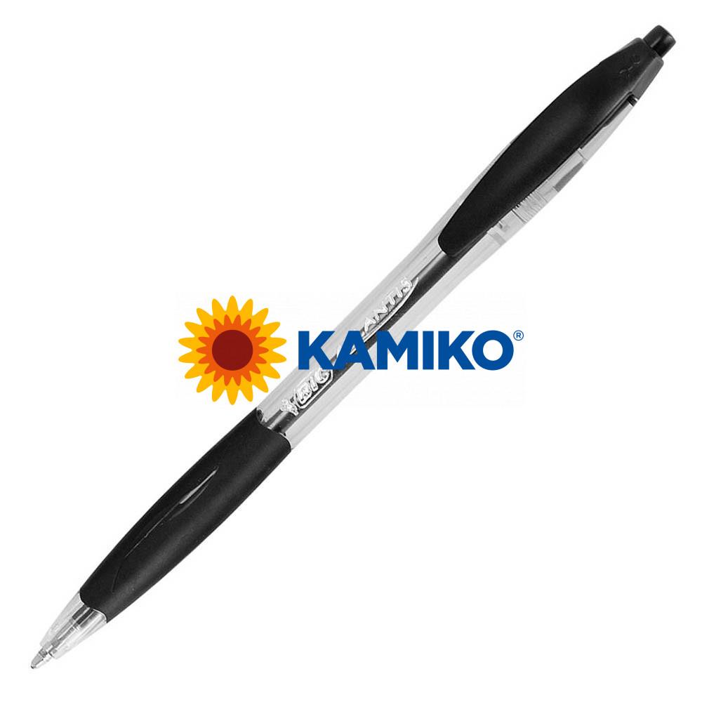 Guľôčkové pero BIC Atlantis refresh čierne