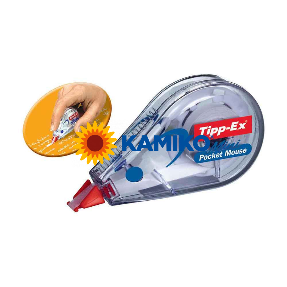 Korekčný roller Tipp-Ex MINI POCKET MOUSE jednorazový 5 mm x 5 m