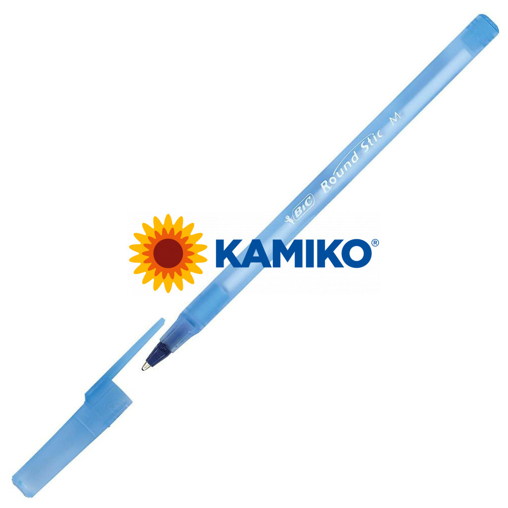 Guľôčkové pero BIC Round Stic modré