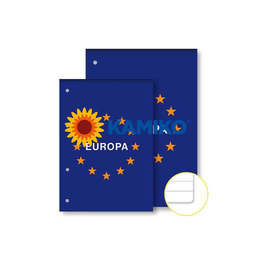 Blok poznámkový Notes Europa A5 50 listov linajkový