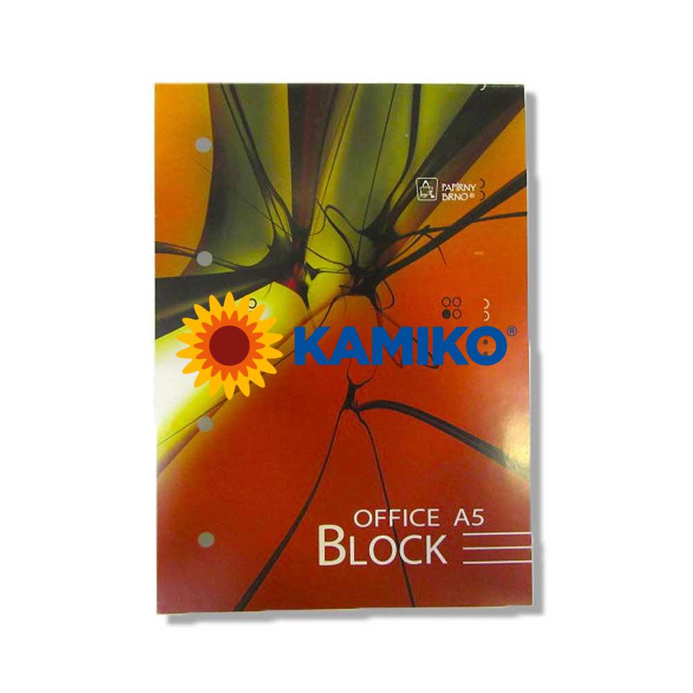 Blok poznámkový Krpa Office A5, 70 listov, linajkový