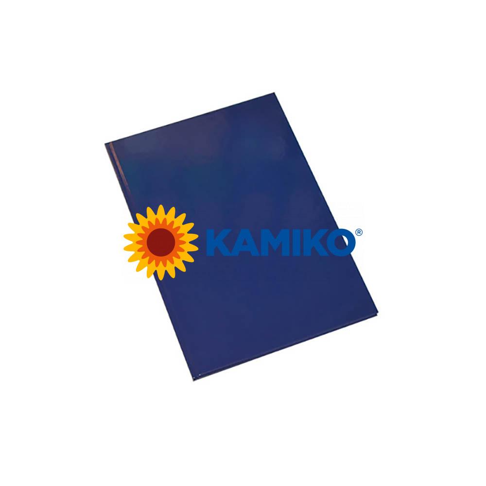 Záznamová kniha Krpa A5, modrá, 100 listov, linajková