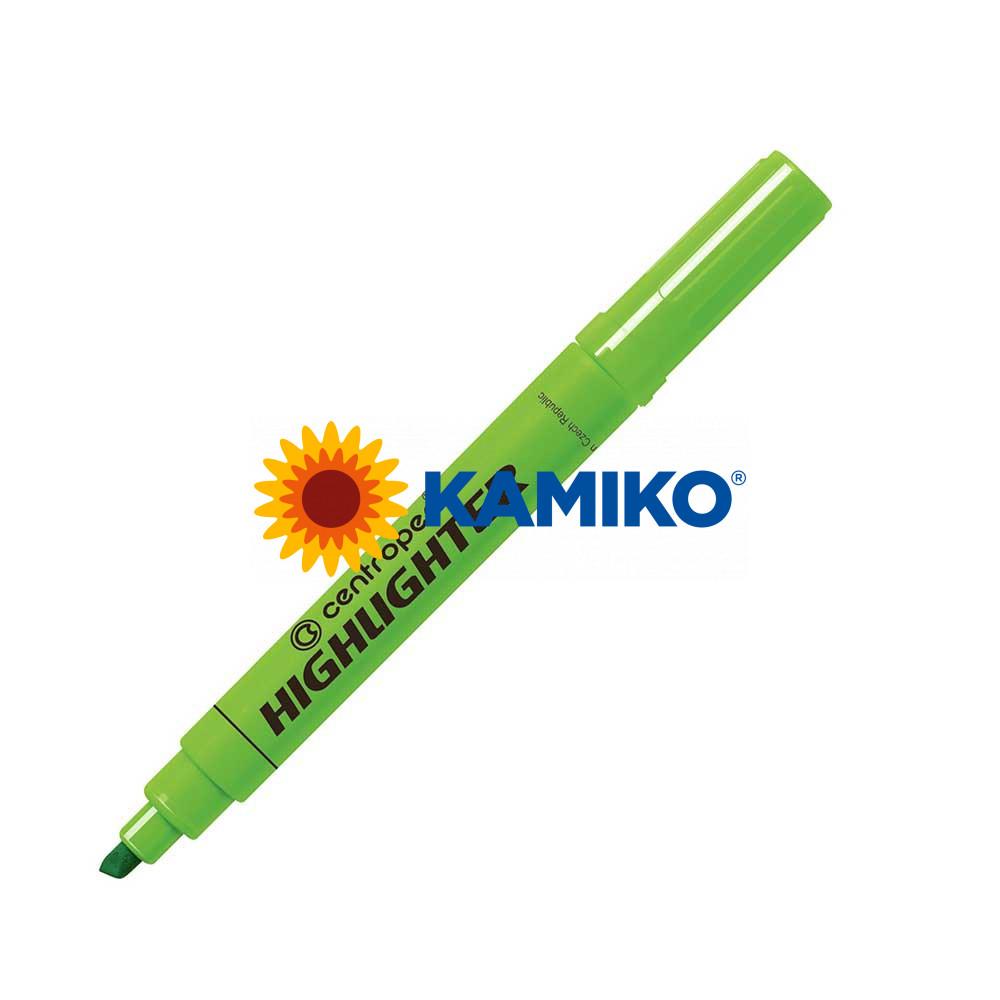 Zvýrazňovač Centropen 8552 (8852) zelený