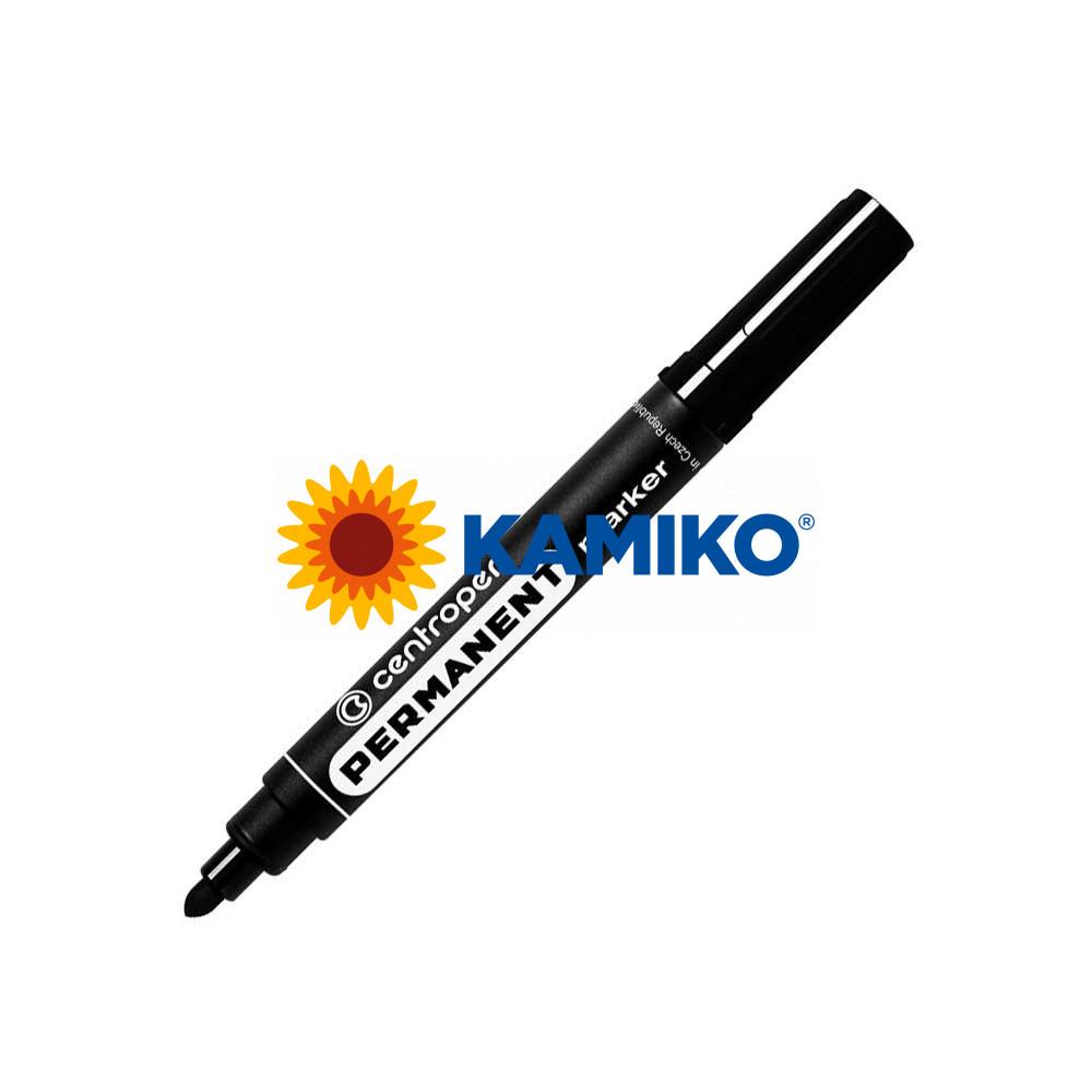Permanentný popisovač Centropen 8566 čierny