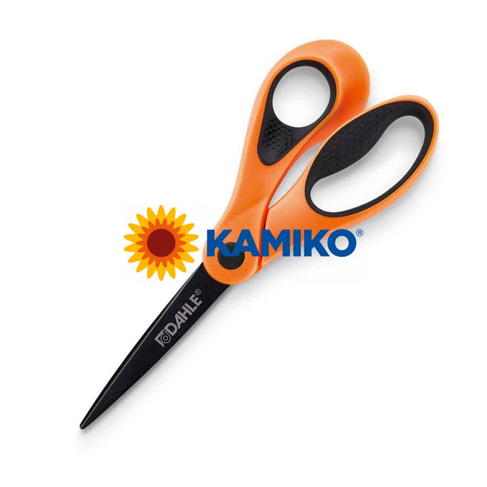 Nožnice DAHLE Soft grip Color ID 21 cm oranžové