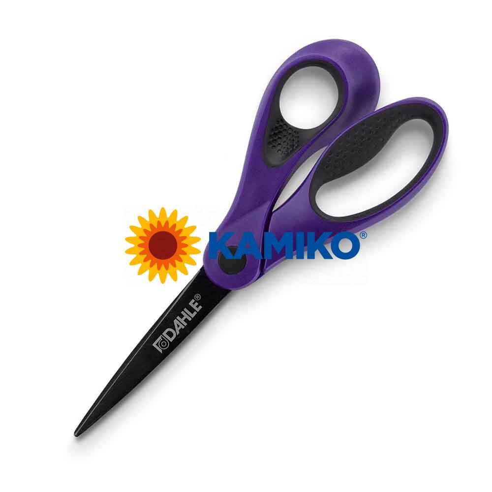 Nožnice DAHLE Soft grip Color ID 21 cm fialové
