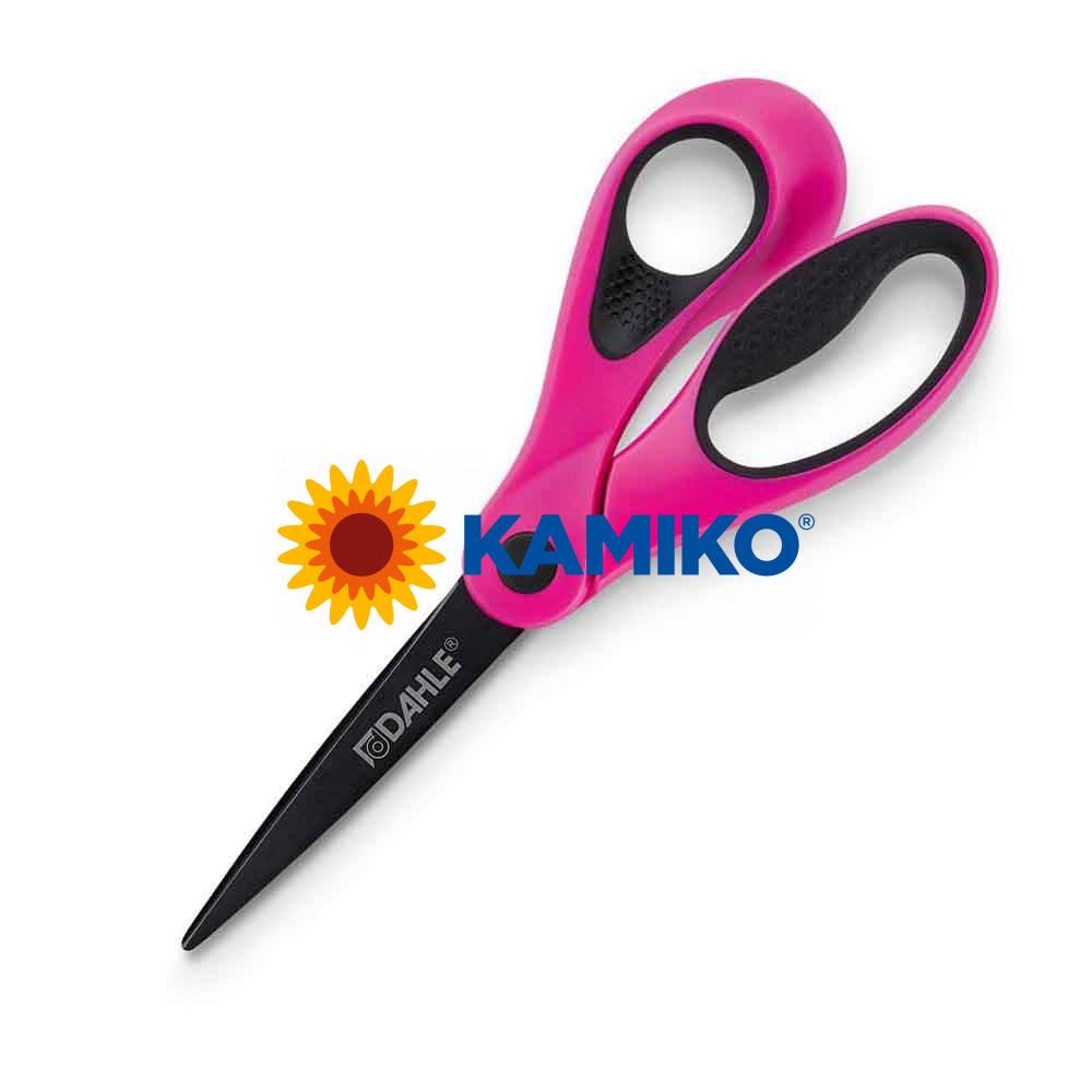 Nožnice DAHLE Soft grip Color ID 21 cm ružové