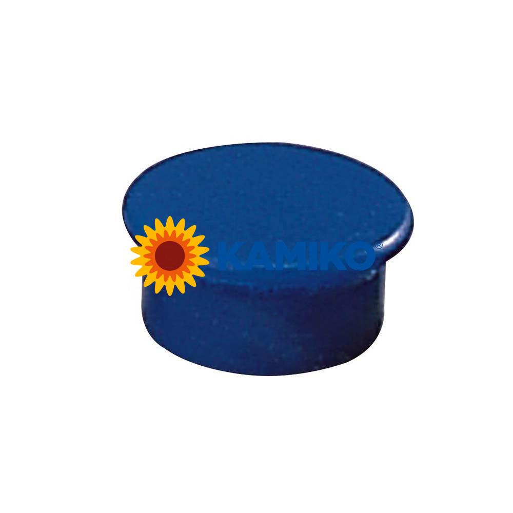 Magnet 13 mm modrý, 10 ks