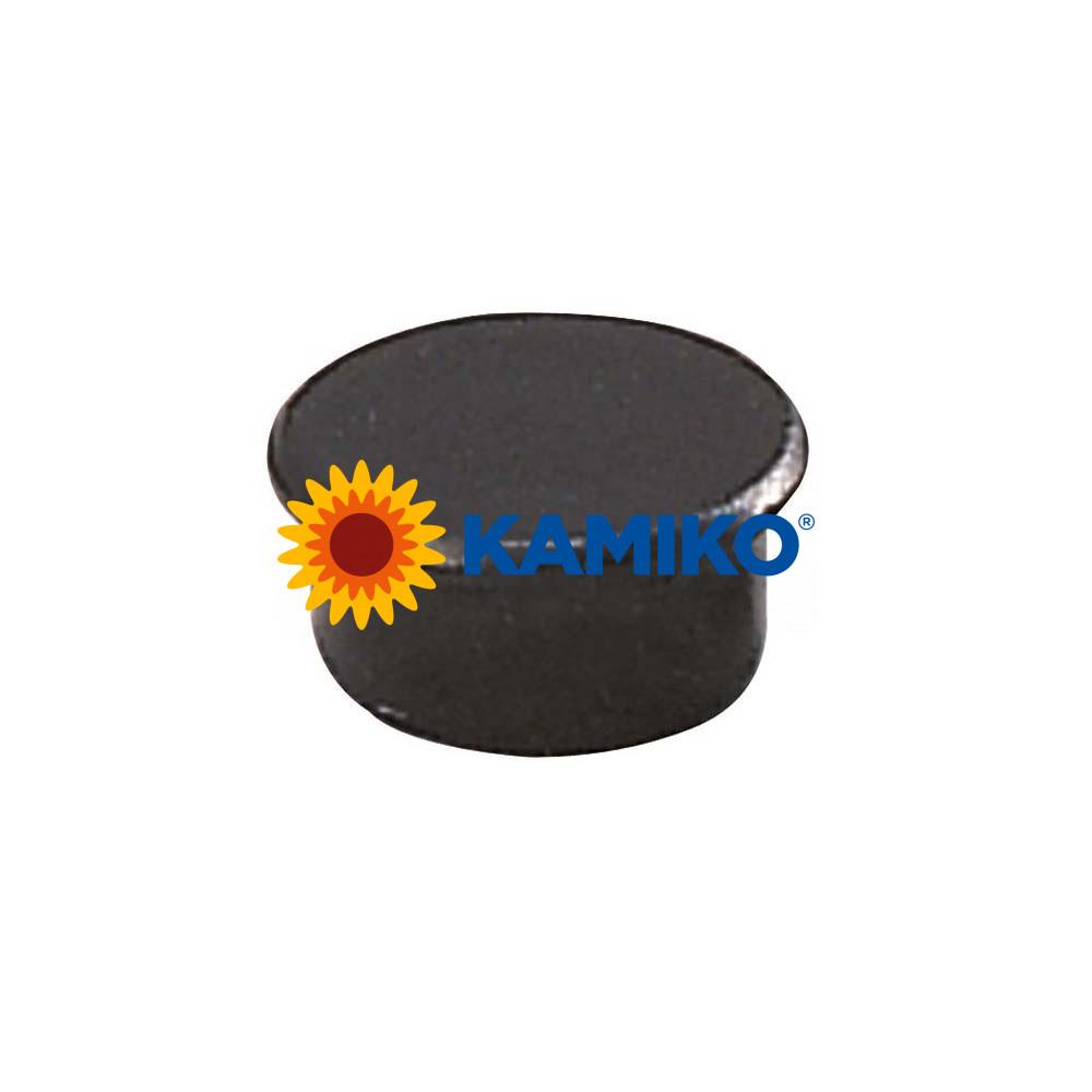 Magnet 13 mm čierny, 10 ks
