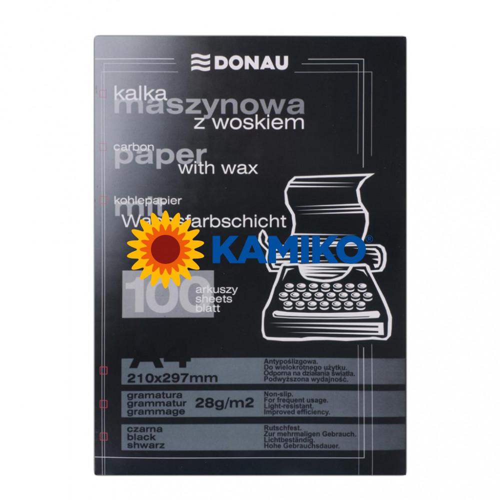 Uhľový papier čierny ,100 ks