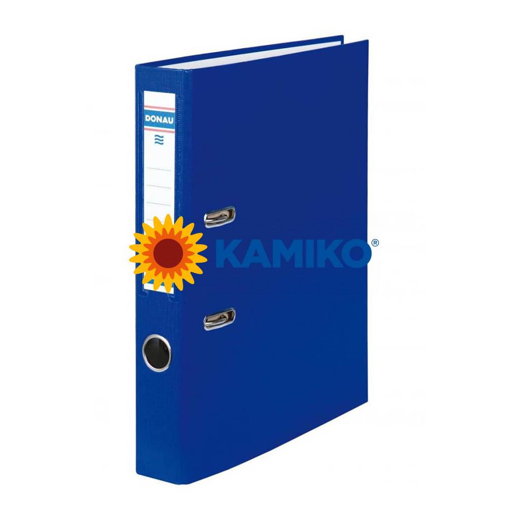 Zakladač pákový DONAU poloplastový 5 cm modrý